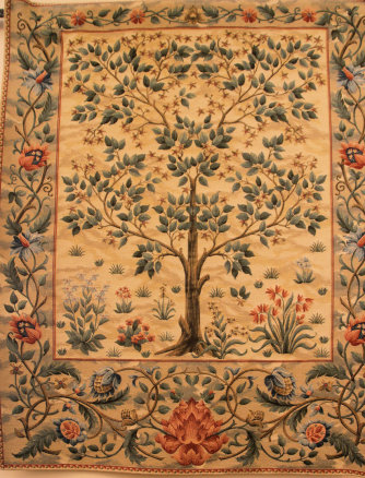 William Morris 'Tree of Life' tapestry